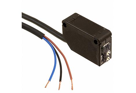 Sensor fotoeléctrico Haz pasante infraroja 300mm. 12-24Vdc / PNP