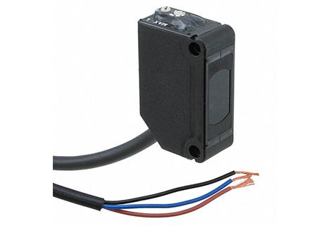 Sensor fotoeléctrico Haz pasante infraroja 300mm. 12-24Vdc / NPN
