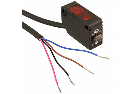 Sensor fotoelectrico Haz pasante infraroja 20 – 300mm 12-24Vdc / NPN