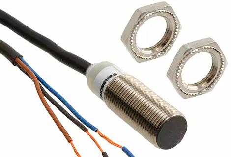 Sensor inductivo Rosca M12, sensado 2mm. 12-24Vdc /NPN /NO.