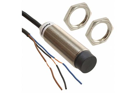Sensor inductivo Rosca M18, sensado 12mm. 12-24Vdc /PNP /NO.