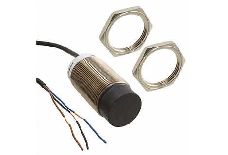 Sensor inductivo Rosca M30, sensado 22mm. 12-24Vdc /PNP /NO.