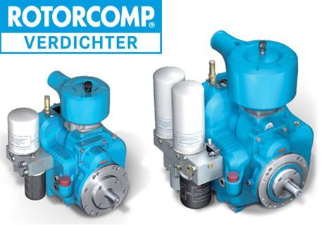 Compresores de Tornillos Rotorcomp