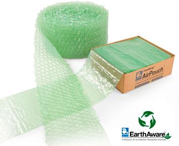 Caja de almohadillas en hexágono AirPouch FastWrap para embalaje