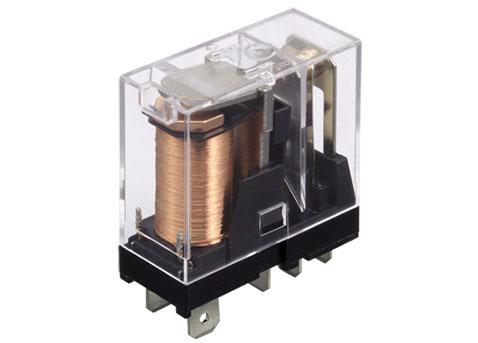 Rele electromecanico bob. 220Vac, 10Amp. / 5 pines, con led indicador