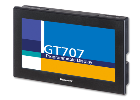 Pantalla Touch screen color 7″, 24 Vdc. RS232, Modelo GT707