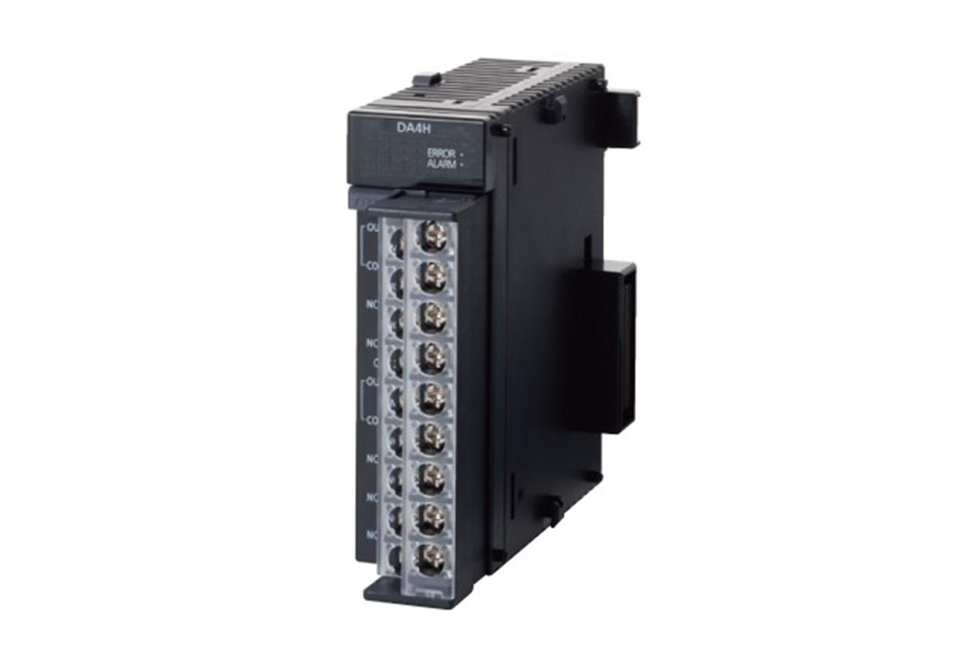Entrada analógica (de alta velocidad y alta precisión), 4 canales, Voltaje / Corriente, Resolución: máx. 16 bits.