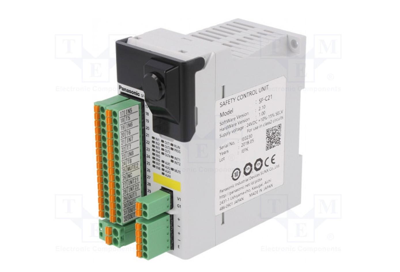Controlador de seguridad barreras (SAFE PLC)